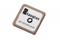 GP.1575.25.4.A.02 GPS 1575.42MHz Patch (front)