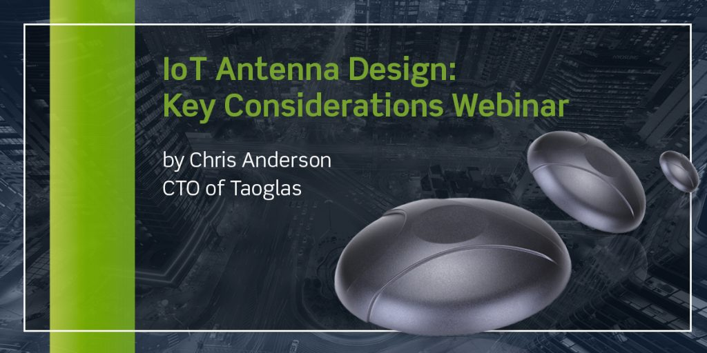 IoT Antenna Design Key Considerations Webinar image for Carol