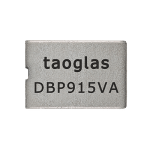Taoglas Filter Technology DBP.915.V.A.30 Dielectric Band Pass Filter for 915MHz 8.7*6.0*3.0mm, Bandwidth 5MHz