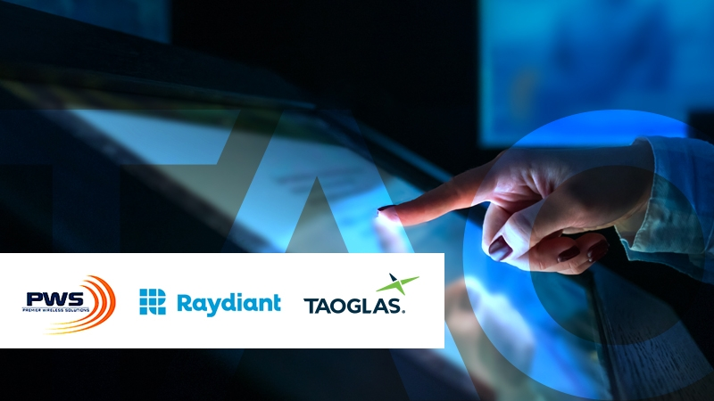 Image for Taoglas, Raydiant and Premier Wireless Solutions Collaborate to Deliver Revolutionary Digital Signage and Immersive Experience Solutions