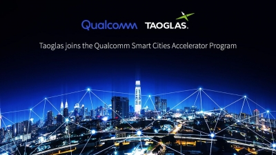 Image for Taoglas Joins Qualcomm Smart Cities Accelerator Program to Help Advance a Safer and More Intelligent Future for Cities, Worldwide